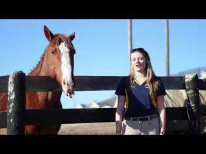 Equestrian team's Jordyn Bagnall rides her way into new titles