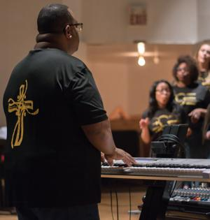 Image result for gospel pianist black