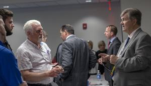 State-wide candidates visit campus