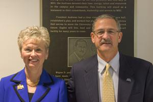 Wayne D. and Susan H. Andrews Hall Ribbon Cutting Ceremony