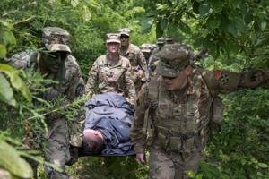 Medevac Training Exercise: Heat Stroke in Grizzly