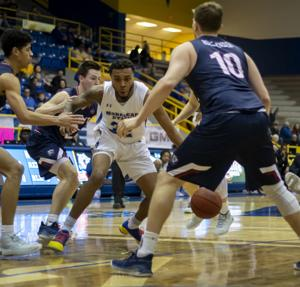 Men's basketball sees improved offense but Eagles succumb to Belmont