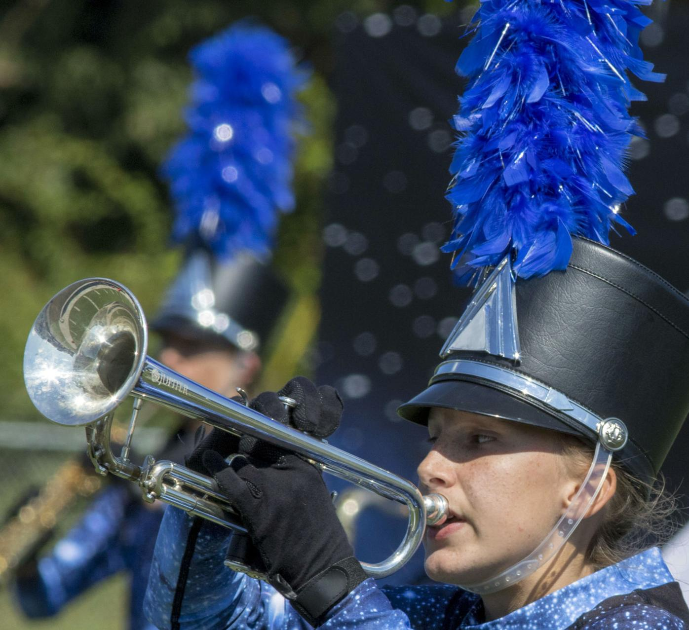 Blue and Gold Marching Band Competition