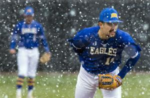Snow suspends Eagle baseball