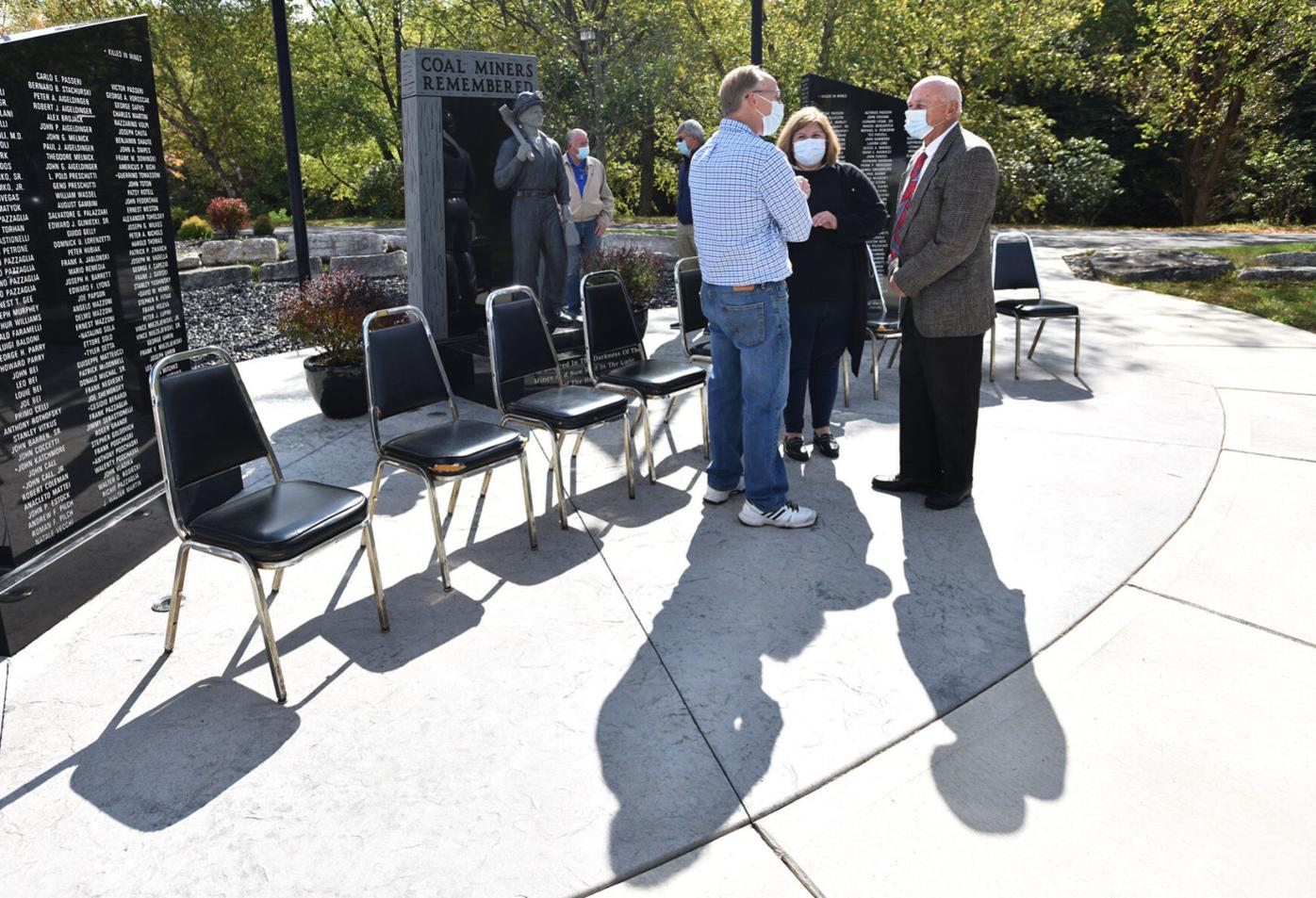 Coal miners monument rededicated