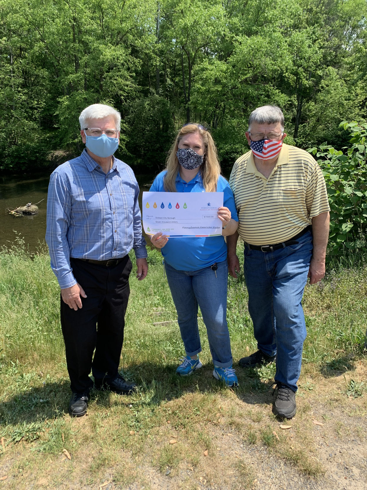 Pennsylvania American Water gives grant to Dickson City