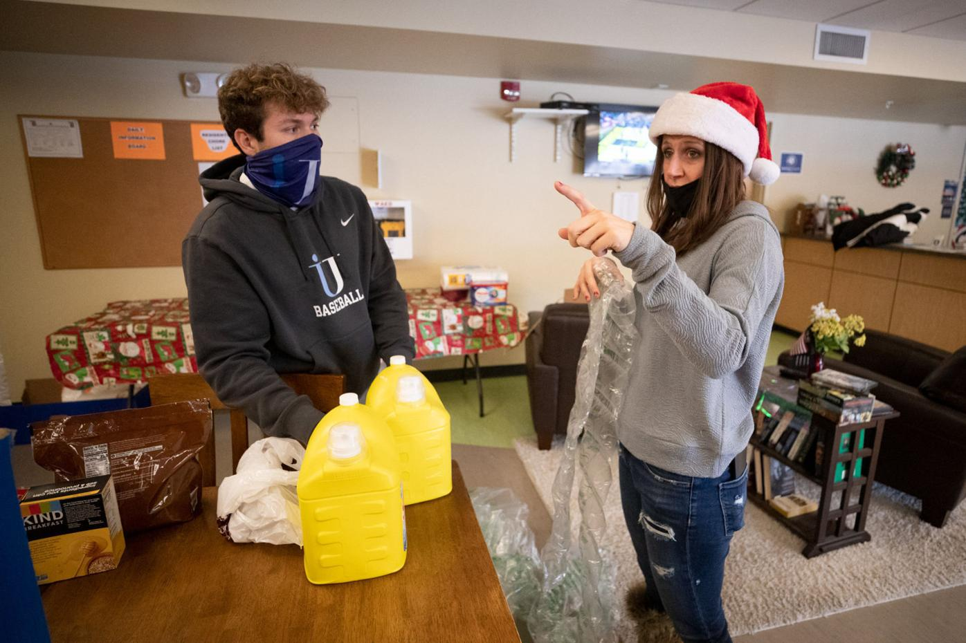 Jessup group delivers goodies to St. Francis Commons