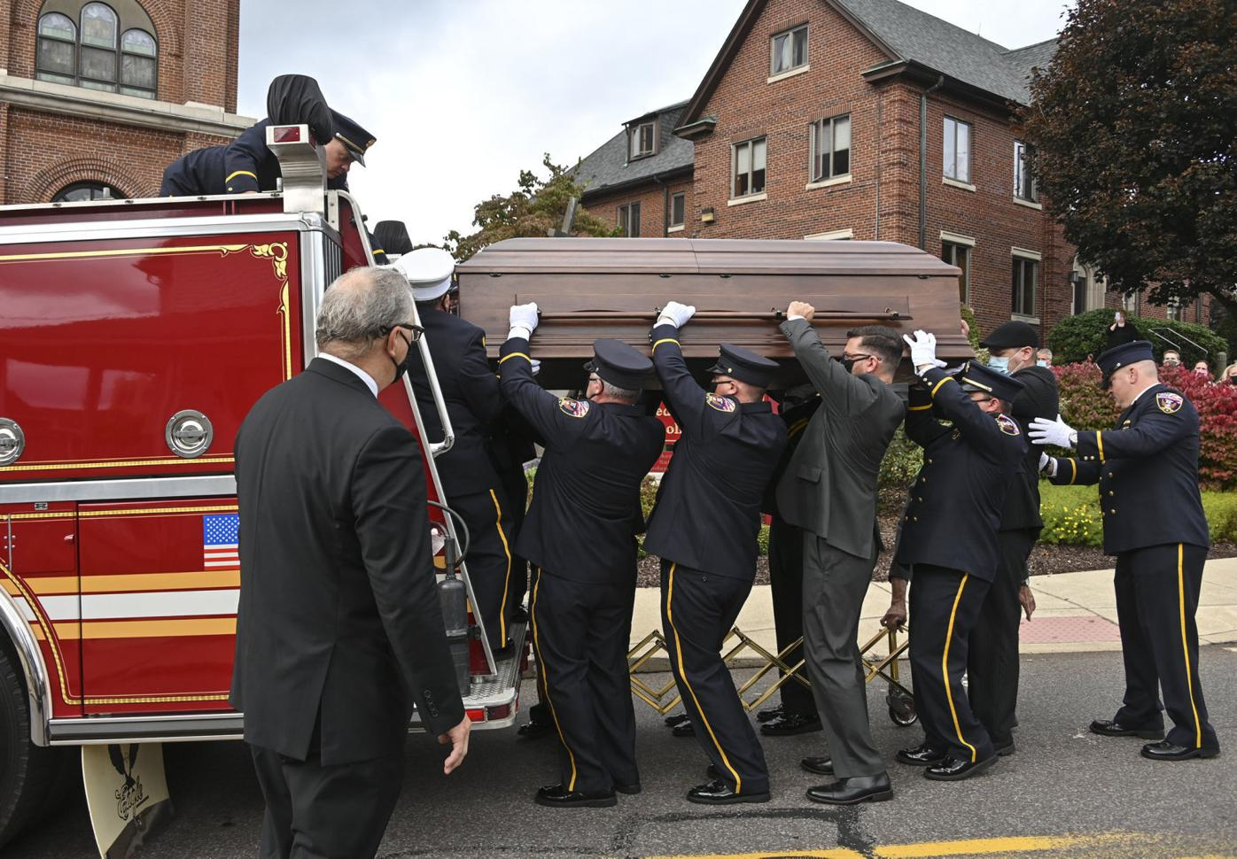 Longtime firefighter laid to rest