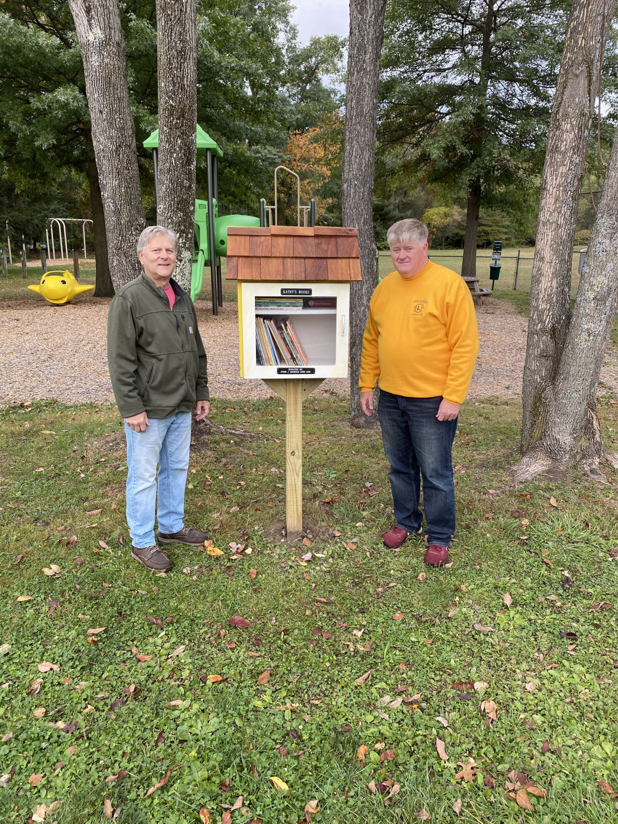 Little libraries installed in Archbald, Eynon parks