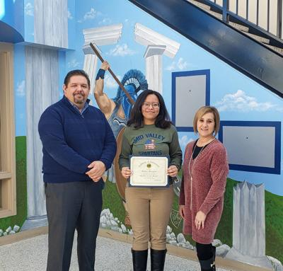 Mid Valley names senior of the month