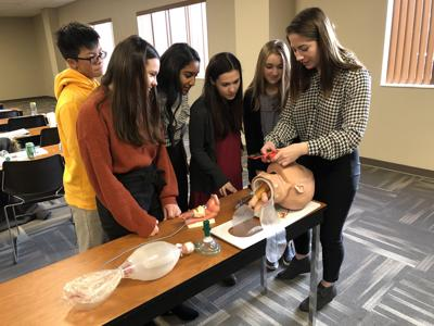 Learning to lead: High schoolers participate in Chamber of Commerce program
