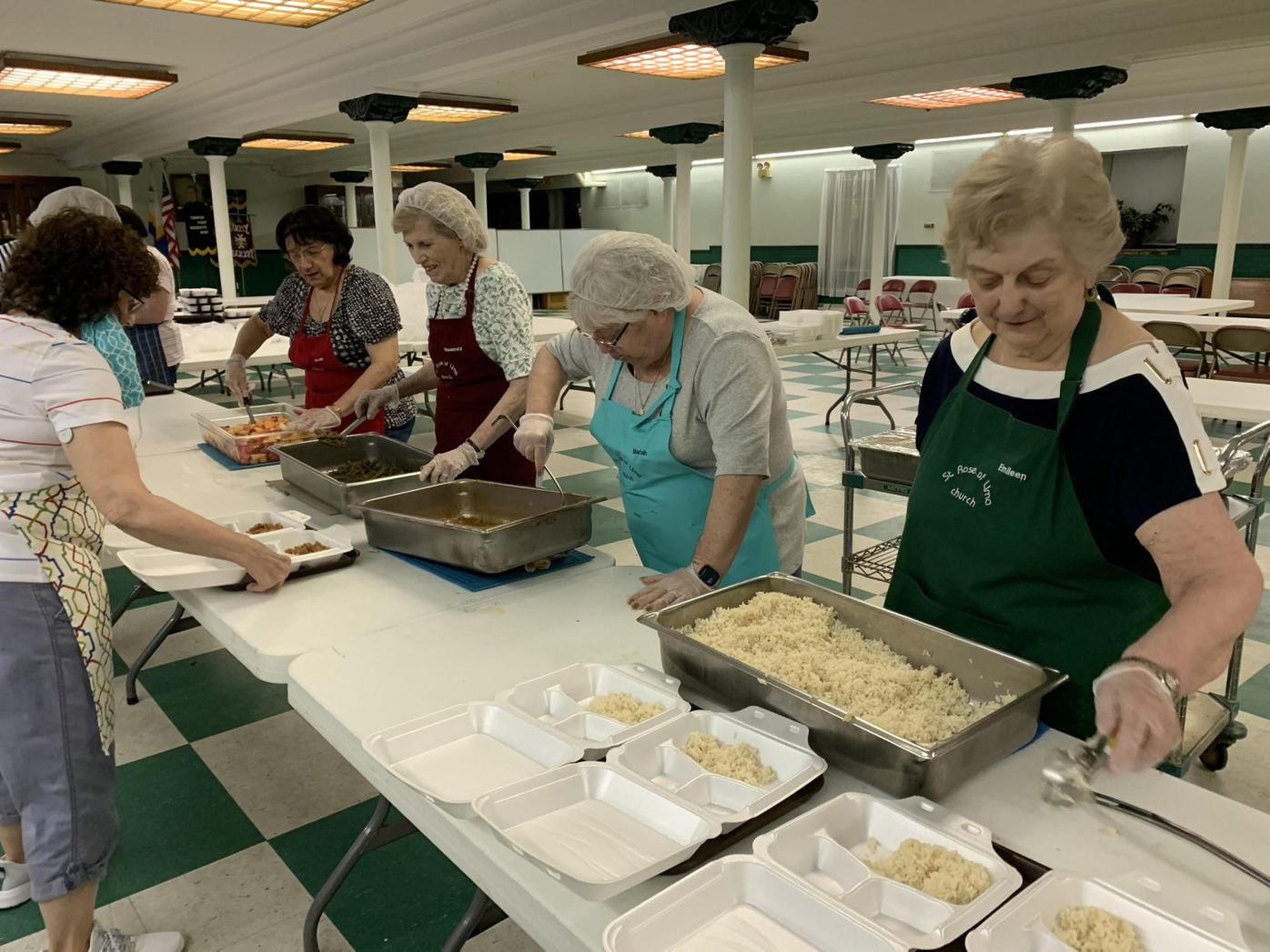 A labor of love: Volunteers serve Midvalley, Upvalley with meals and more