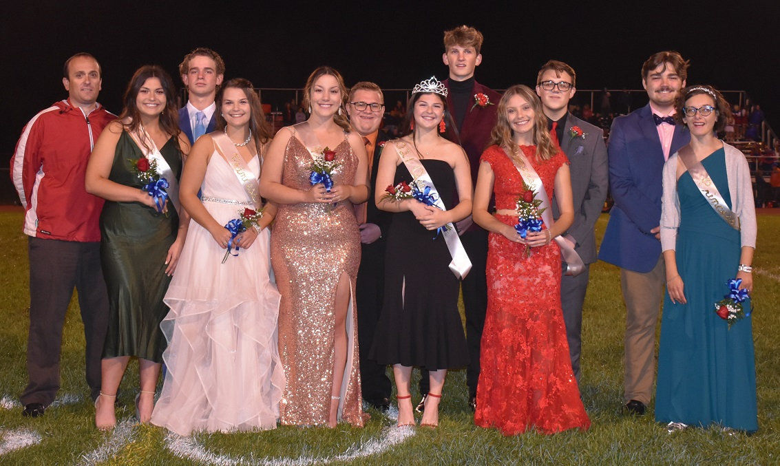 Carbondale Area Homecoming Court