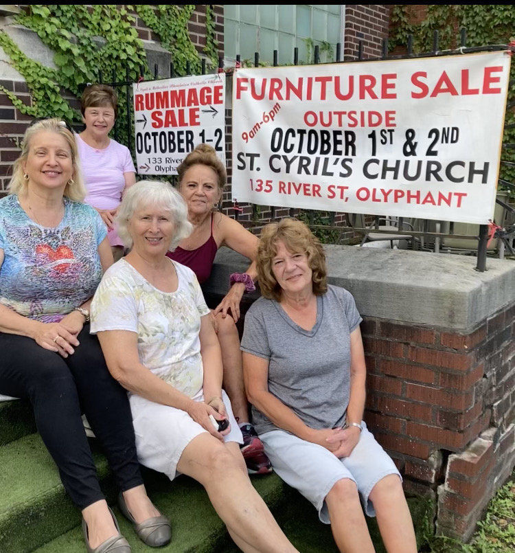 Olyphant church's rummage sale starts today