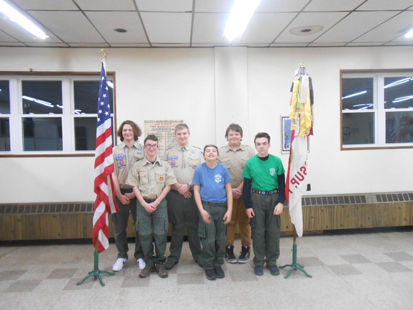 Boy Scouts organize fundraiser