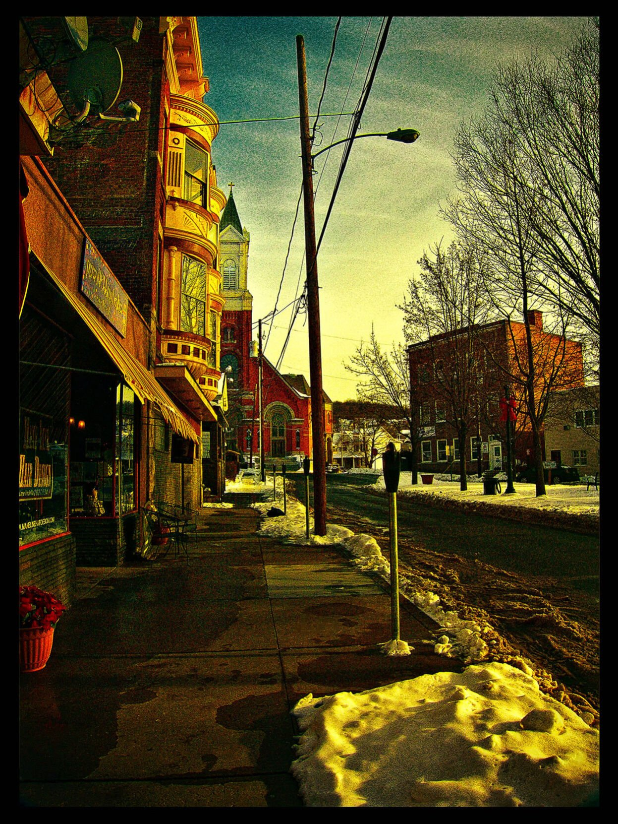 A photograph titled Day's End by Ruthanne Jones