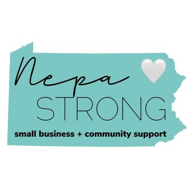 Official graphic for NEPA Strong.
