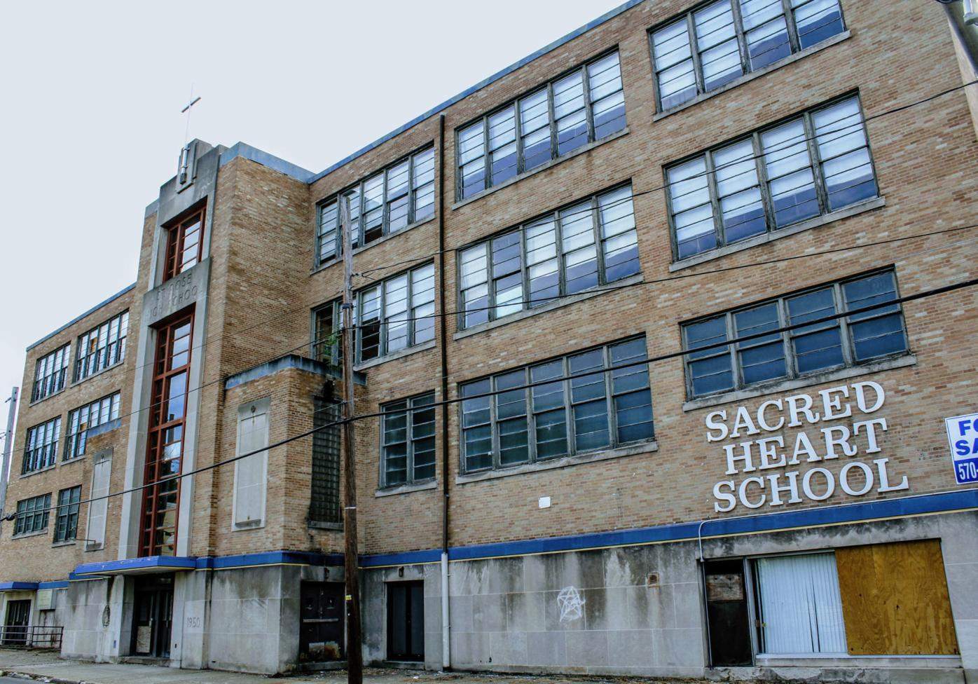 St. Rose/Sacred Heart High School in downtown Carbondale. RICH COX/FOR THE VALLEY ADVANTAGE