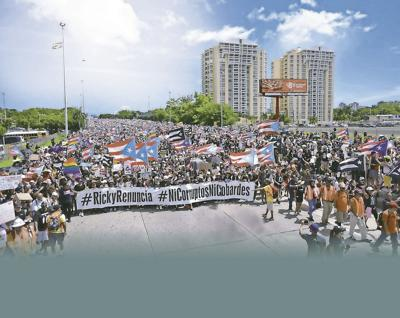 National Protest, Monday July 22