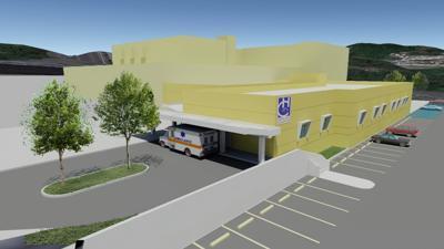 Hospital Concepcion new facility