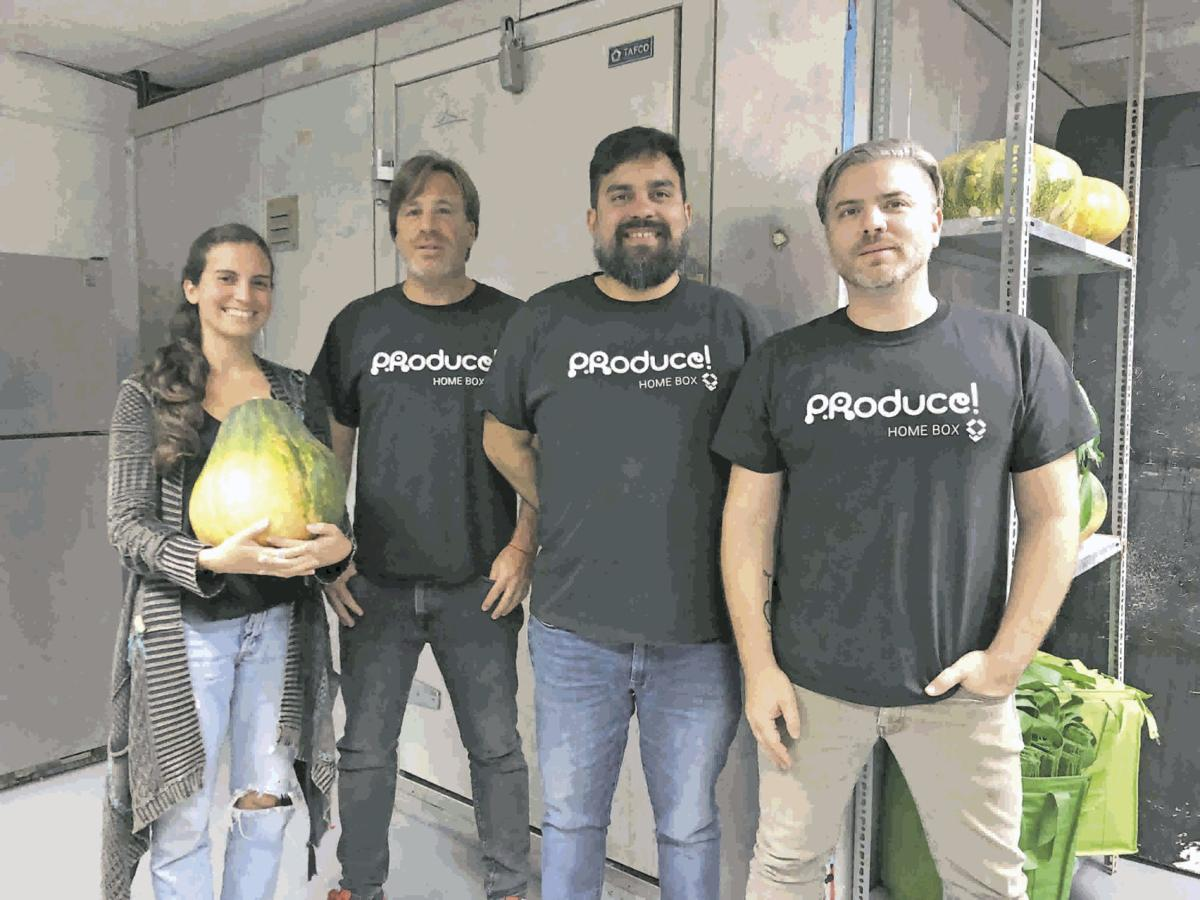 Crystal Díaz, Patricio Schames, Francisco Tirado and  Martín Louzao