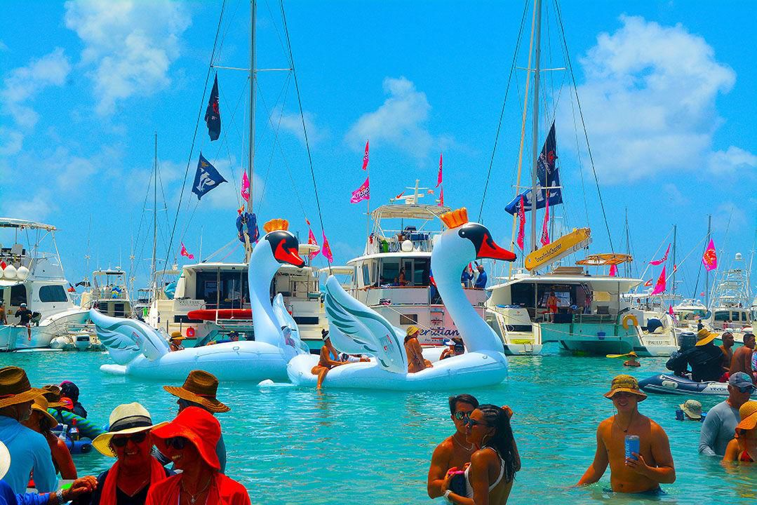 Christmas In July 2019 Virgin Gorda.Puerto Ricans Party In British Virgin Islands Lifestyle