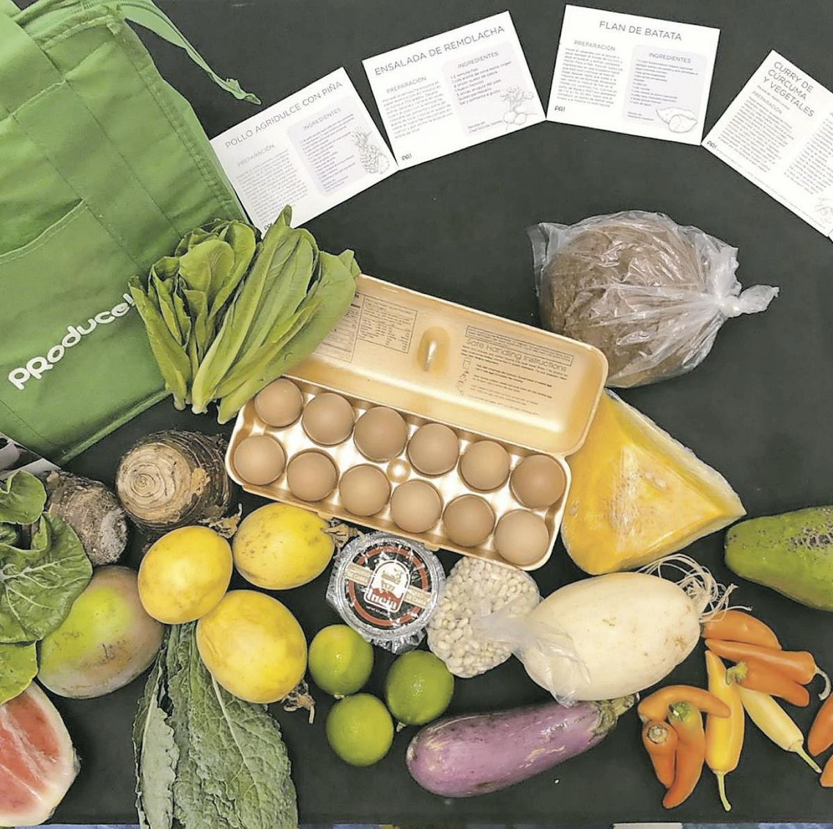 Home Box Produce!