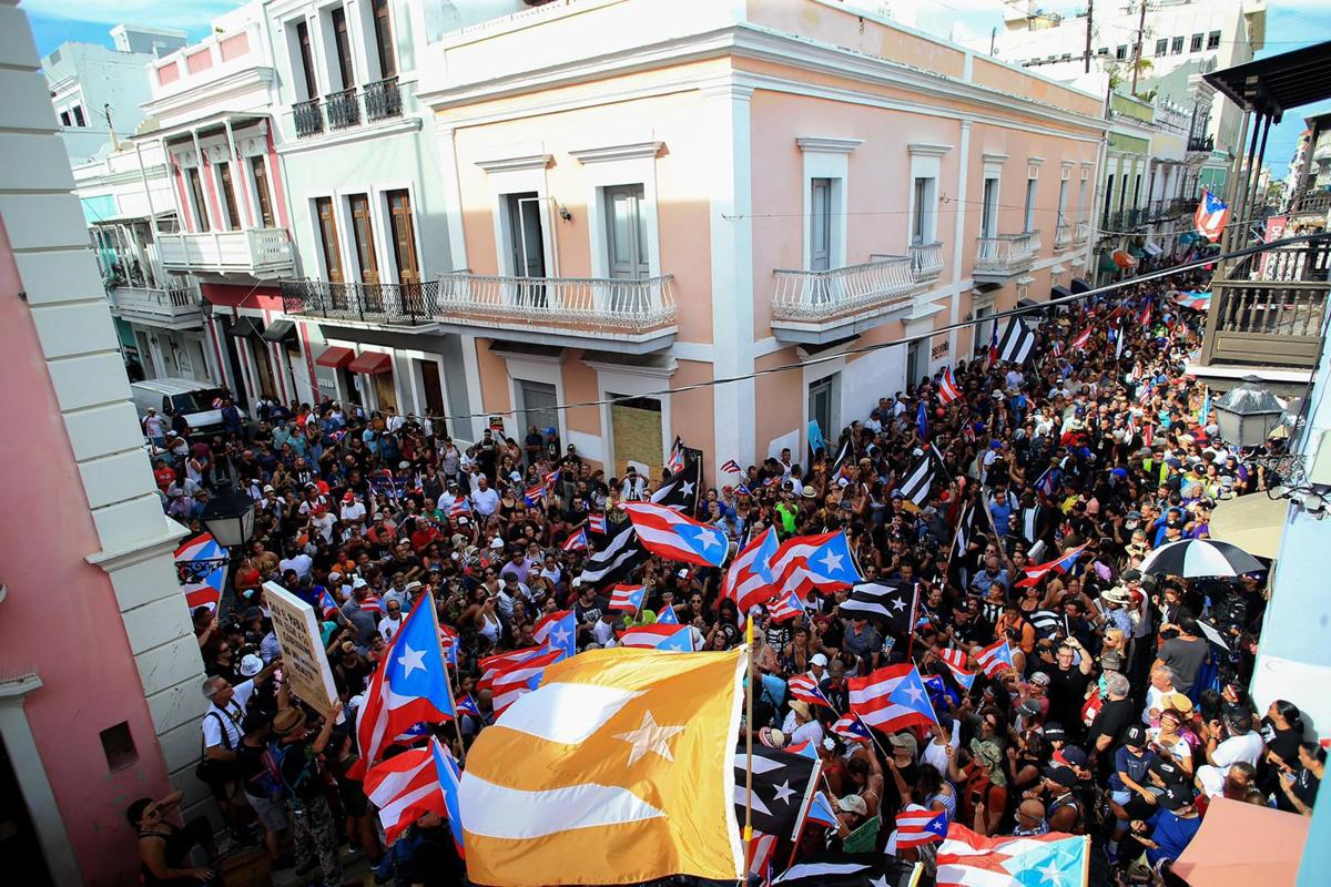 Protests in Old San Juan
