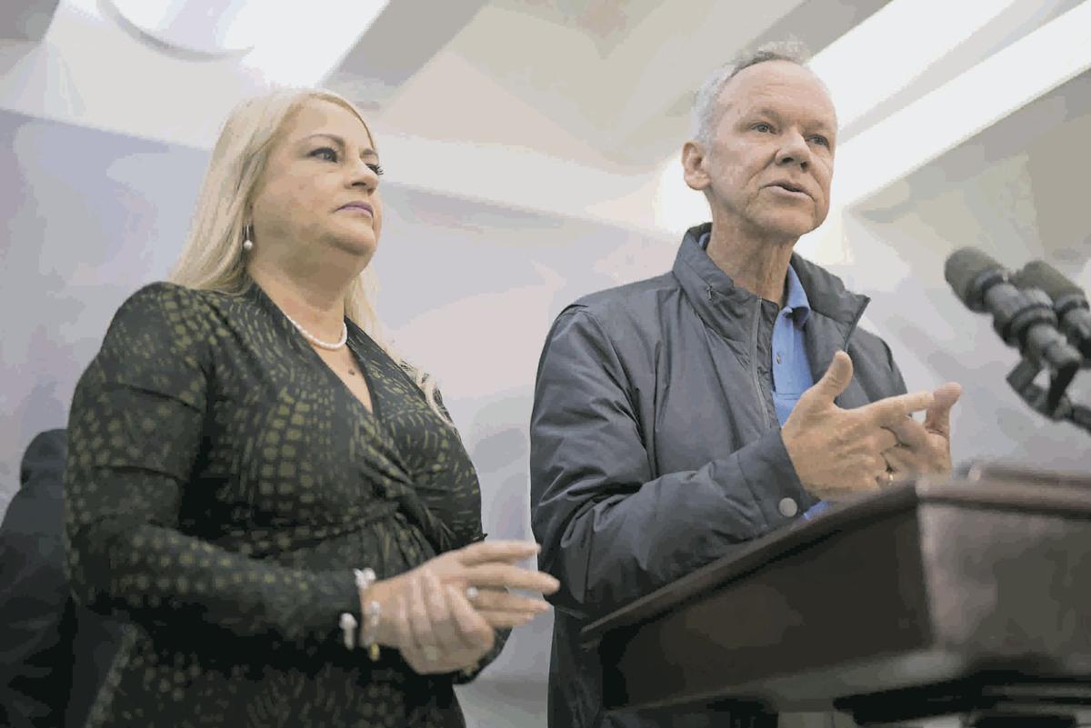 Gov. Wanda Vázquez and José Ortiz