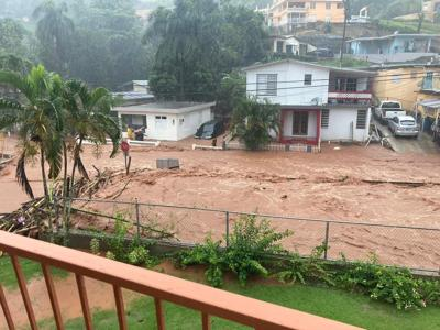 Tropical Storm Isaias Mayagüez