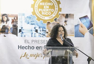 Liliana Cubano, president of the Puerto Rico Products Association