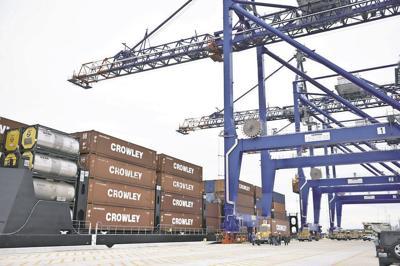 Cargo, ports