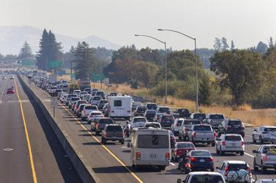 California Wildfires Blackout