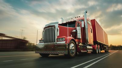 Truck, Ground Freight