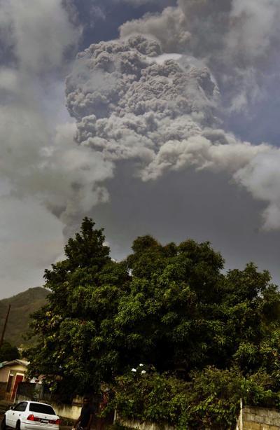 St Vincent volcano2