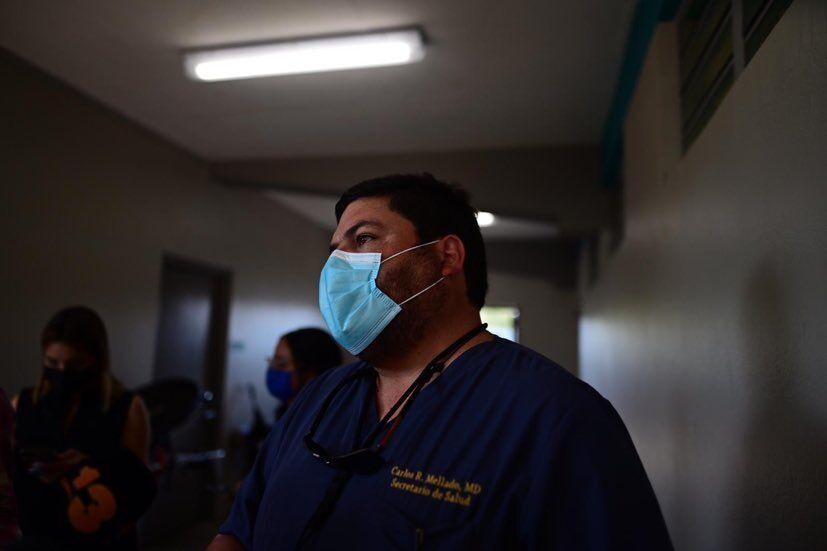 Health Secretary Carlos Mellado