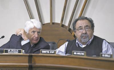 Rep. Raul Grijalva (right) and Rep. Rob Bishop