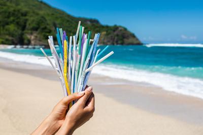 Plastic Straws, ocean pollution