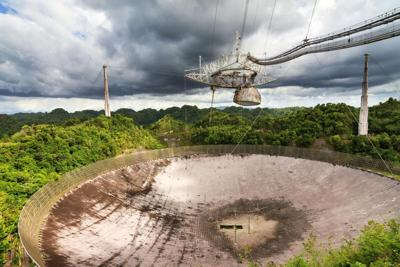 Arecibo Radio Telescope (from the Arecibo Observatory)