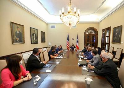 Governor Meets With Economic, Medical Task Forces