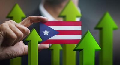 Puerto Rico Flag, Economy (Positive)