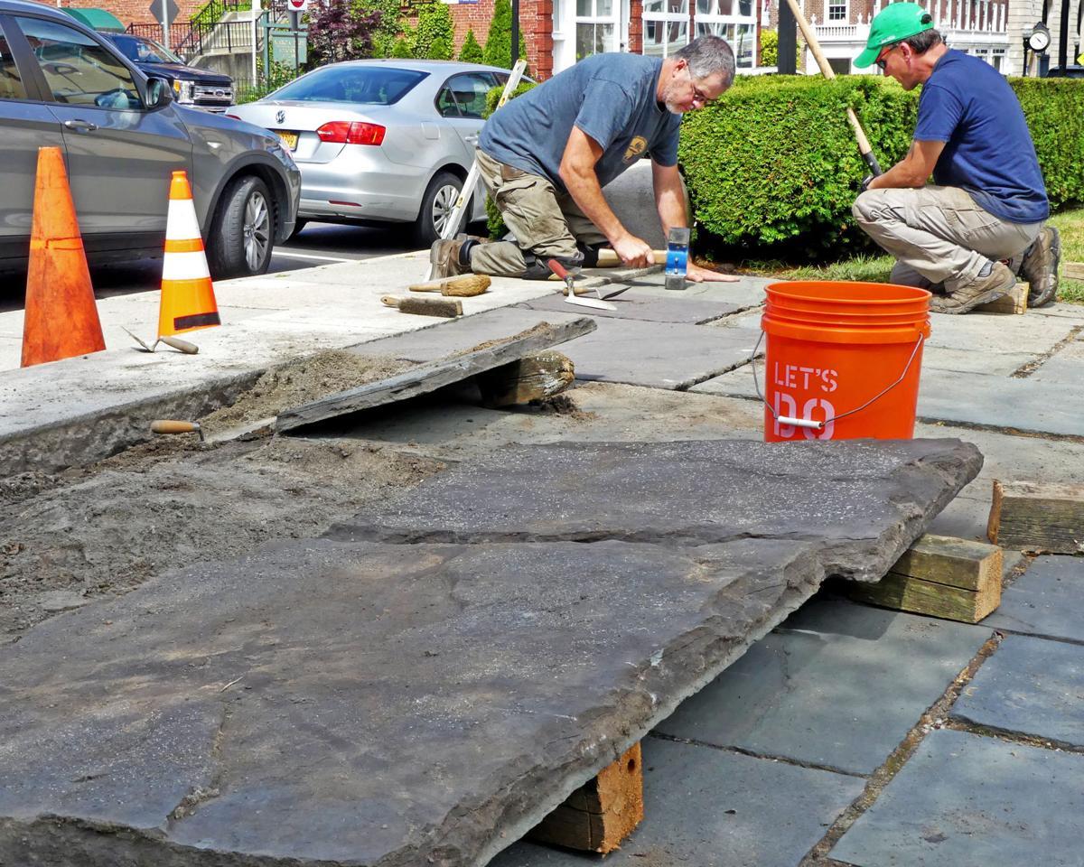 070219 WES Wilcox Park steps repair514.JPG