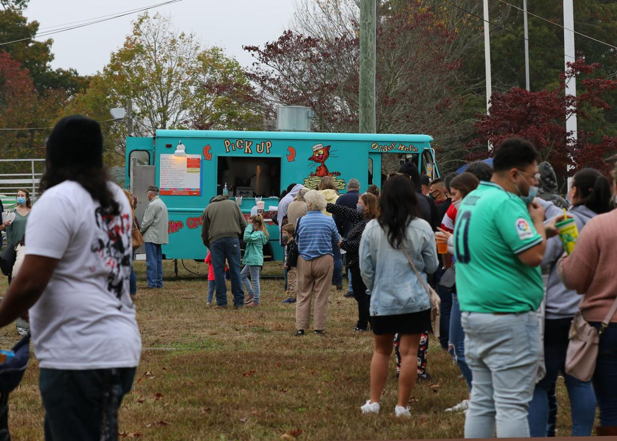 The First Annual New England Food Truck Fest, held Saturday, October 24, 2020, brought some of Eastern Connecticut's very best truck-cooked foods and confectionaries to the North Stonington Fair Grounds. The infamous Alleycat's Friskie Fries food truck, an ever-present vendor at fairs and events across New England, was on hand for the event. | Jackie L. Turner, Special to The Sun.