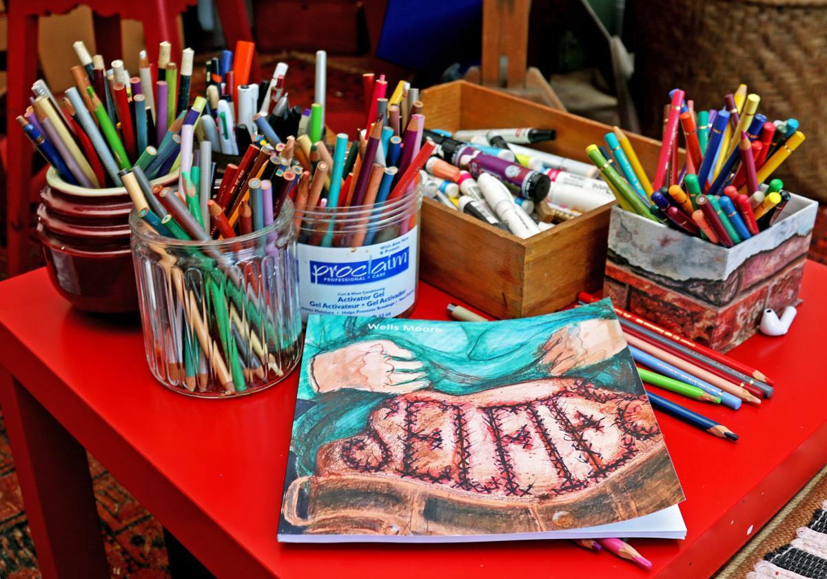 062719 WES Artist Selfies book 158.JPG
