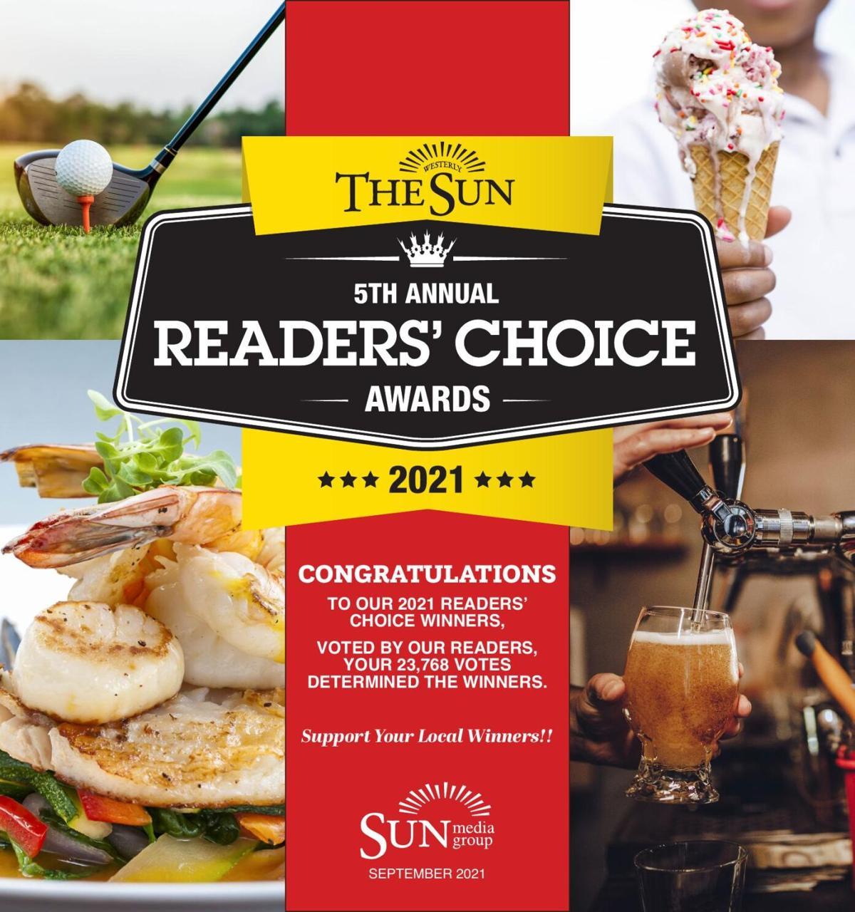 2021 Readers Choice Winners