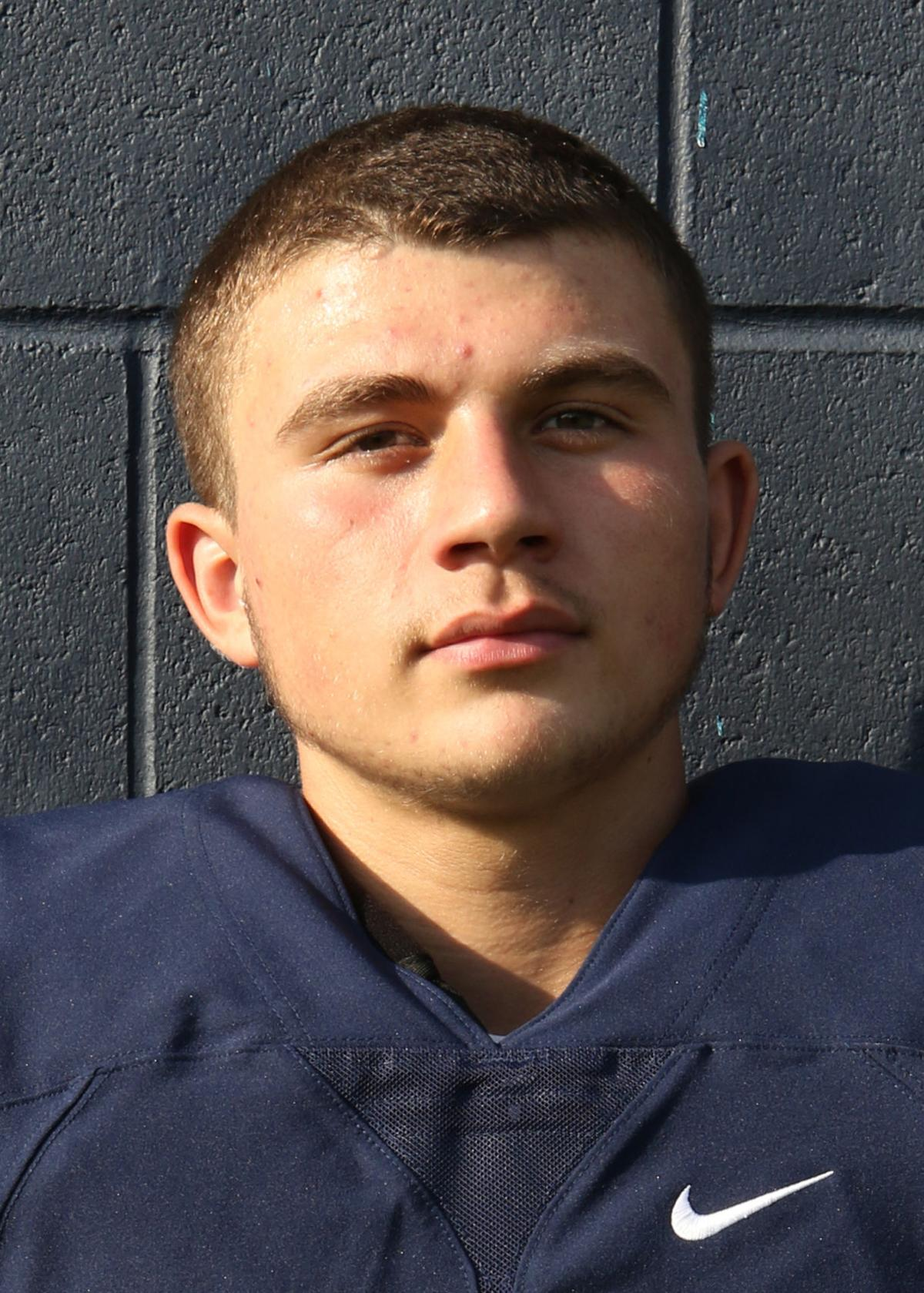 Westerly High Football #48 Josh Lacerte