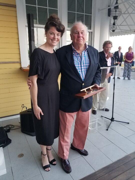 Herreshoff Jubilee at Ocean House - Dick Holliday and Evelyn Ansel.jpg