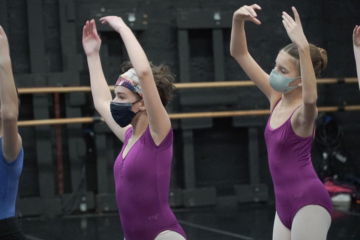 Students of FBP School in rehearsal for Nutcracker Sweets! Photo by Dylan Giles.jpg