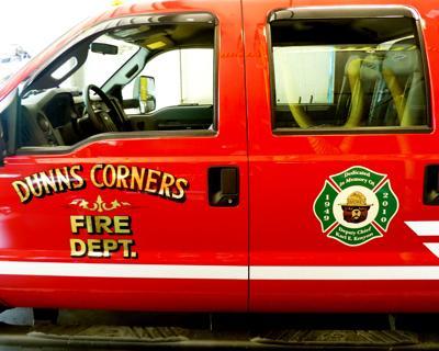 standing Dunn's Corners Fire