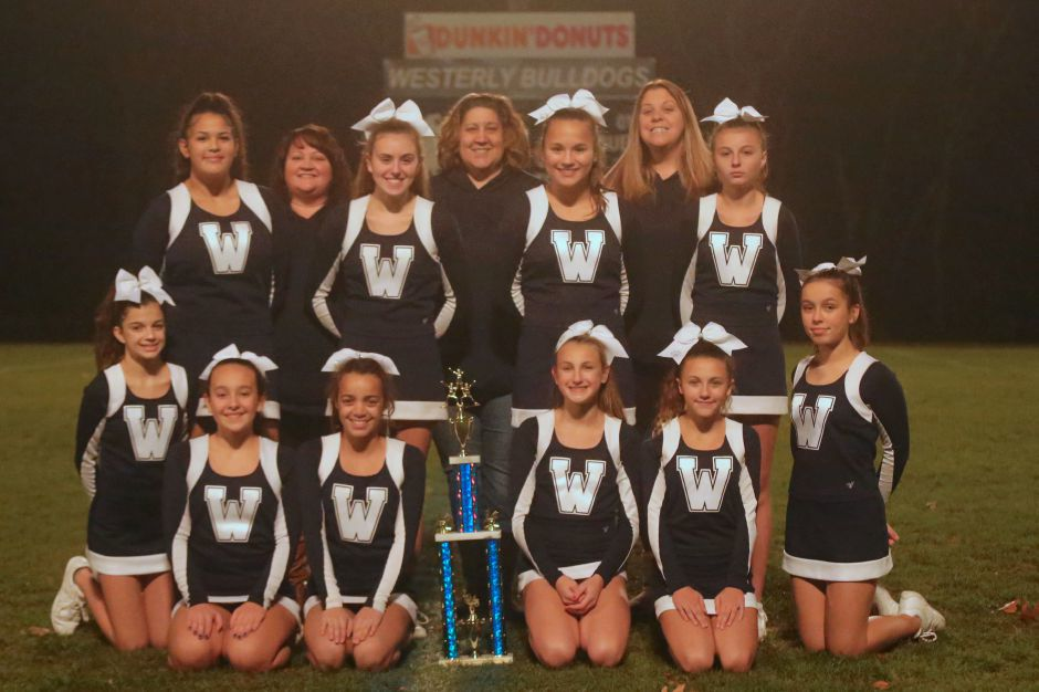 Cheering: Westerly cheerleaders take first in Senior and Micro divisions